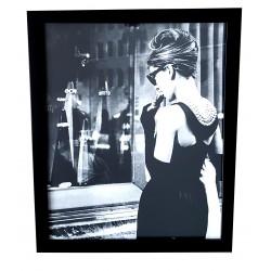 Audrey Hepburn obraz na ścianę do salonu
