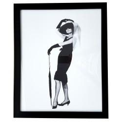 Audrey Hepburn obraz glamour 45x55 na ścianę do salonu