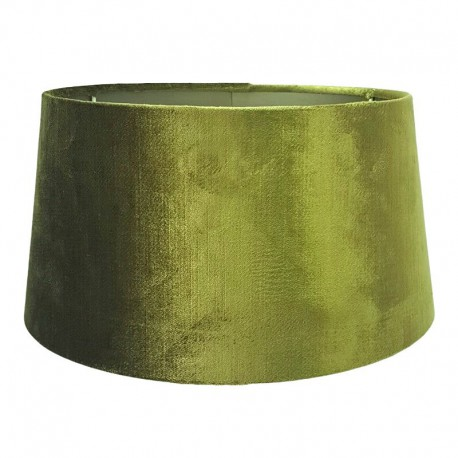 Do lampy stołowej Ø30 abażur welurowy złota zieleń art deco