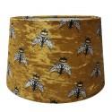 Luksusowy welurowy abażur do lampy stołowej Ø 30 Boho/pszczółki