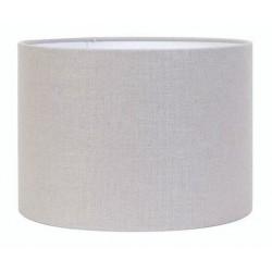Abażur do lampy podłogowej Ø 40 jasny popiel cylinder