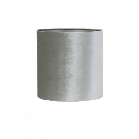 Welurowy abażur cylindryczny Ø 30 do lampy stołowej