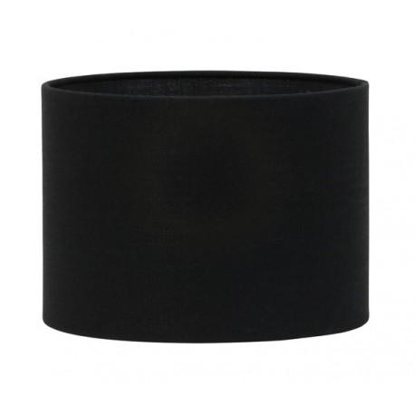 Duży abażur do lampy podłogowej Ø 45 czarny cylinder