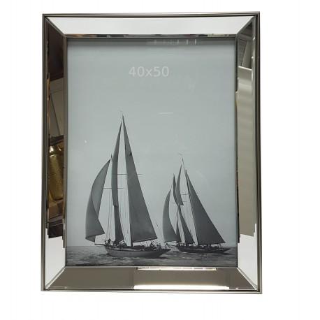 Lustrzana rama 45X55 na grafikę, portret, zdjęcie do wnętrza New York