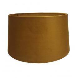 Złoty welurowy abażur do kinkietu Ø 20