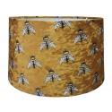 Luksusowy welurowy abażur do lampy stołowej i podłogowej Ø 40 Boho/pszczółki