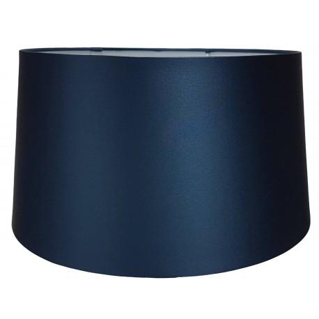 Luksusowy abażurØ 25 niebieska satyna do lampy stołowej