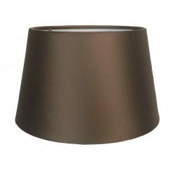 Jedwabny,brązowy abażur Ø 20 do kinkietu/mała lampa