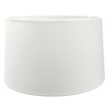 Satynowy biały abażur lampa podłogowa
