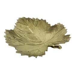 Aluminiowy talerzyk-tacka liść