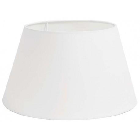 Biały bawełniany abażur do lampy podłogowej