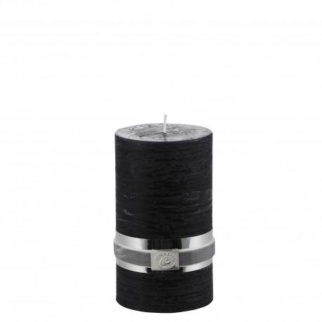 Dekoracyjna czarna gruba świeca Lene Bjerre
