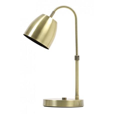 Lampa biurkowa złota