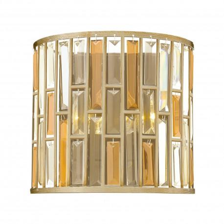 Kinkiet kryształowy Art Deco