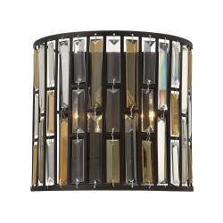 Kinkiet kryształowy Art Deco do salonu
