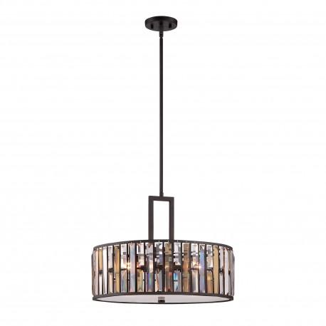 Kryształowa lampa wisząca do salonu glamour Ø54