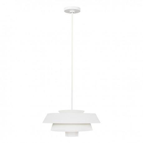 Designerska biała lampa wisząca do salonu 457x1617