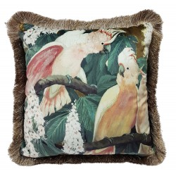 Poduszka ozdobna Boho Papuga