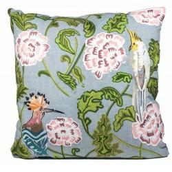 Luksusowa poduszka Boho haftowane kwiaty 50x50