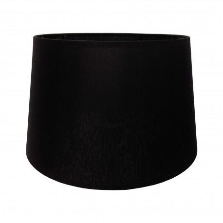Satynowy czarny abażur lampa stołowa