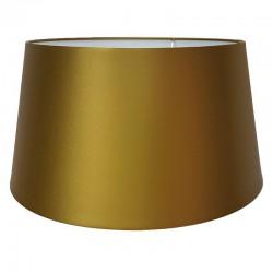Do lampy podłogowej satynowy abażur antyczne złoto