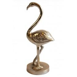 Dekoracyjna figurka złoty flaming Art Deco