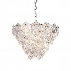 Lampa wisząca szklane kryształy w stylu Hollywood