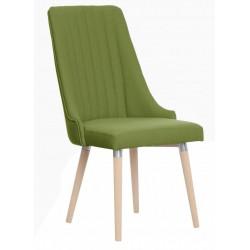 Nowoczesne krzesło tapicerowane w stylu skandynawskim