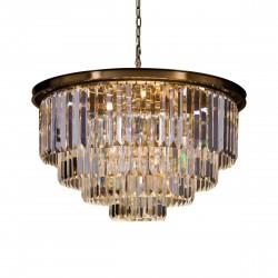 Luksusowy złoty kryształowy żyrandol Ø 81 do salonu