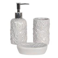 Porcelanowy zestaw łazienkowy