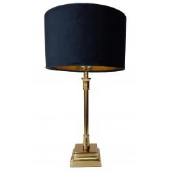 Lampa stołowa złota h48cm
