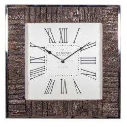 Duży zegar ścienny do salonu Hampton