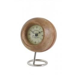Nowoczesny zegar stojący drewniany Hampton