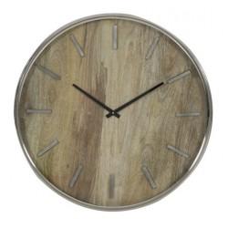 Luksusowy nowoczesny zegar ścienny drewniany Ø51