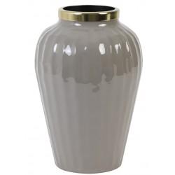 Nowoczesny wazon szklany niebieski Hampton