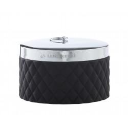 Luksusowa szkatułka czarne puzderko na toaletkę Lene Bjerre