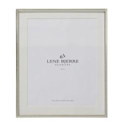 Elegancka duża srebrna ramka na zdjęcia Glamour Lene Bjerre
