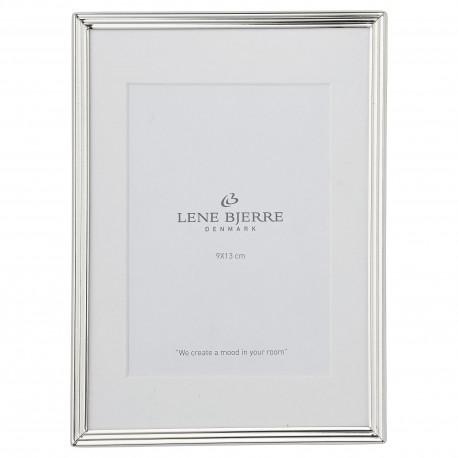 Elegancka srebrna ramka na zdjęcia Glamour Lene Bjerre