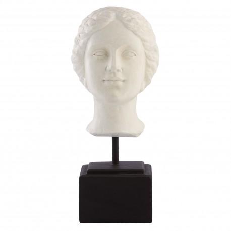 Figurka głowa popiersie kobiety luksusowe dekoracje do domu Lene Bjerre