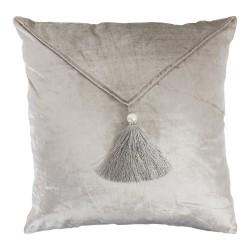 Elegancka welurowa poduszka ozdobna Glamour 45x45