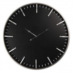 Zegar ścienny czarny nowoczesny