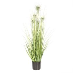 Sztuczna trawa w doniczce kwiat boho h 90cm