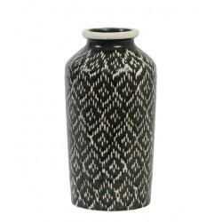 Czarny wazon Boho