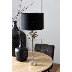 Lampa stołowa srebrna Boho