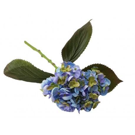 Kwiat chortensja-niebieskie sztuczne kwiaty
