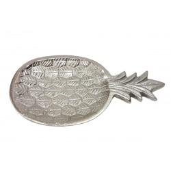 Metalowy talerzyk ananas dekoracja