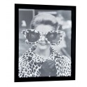 Obraz glamour-obraz czarna rama 55x45x3