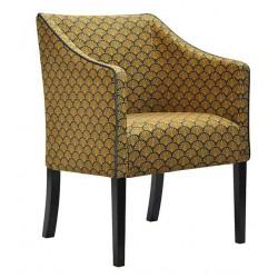 Fotel Art Deco tapicerowany