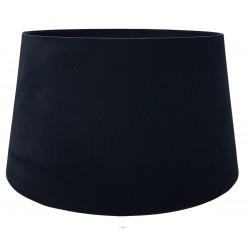 Abażur czarny aksamitny do lampy stołowej