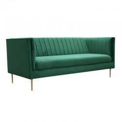 Sofa-kanapa Art Deco z taśmą pineskową
